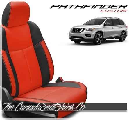 2013 - 2020 Nissan Pathfinder Custom Katzkin Leather Seat Sale