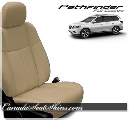 2013 - 2019 Nissan Pathfinder Katzkin Leather Seats