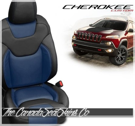 2014 - 2021 Jeep Cherokee Katzkin Custom Leather Seat Sale