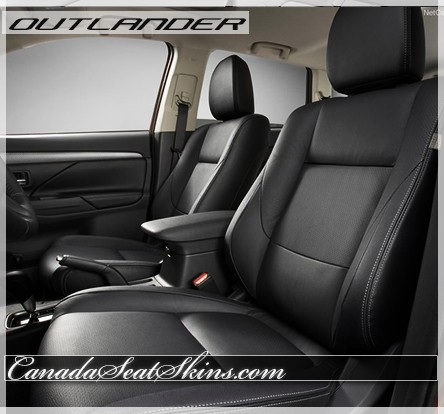 2014 - 2019 Mitsubishi Outlander Katzkin Leather Interiors