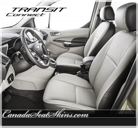 2014 - 2018 Ford Transit Connect Wagon Katzkin Leather Seats