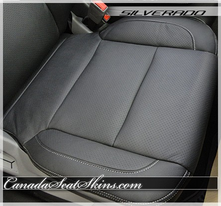 Seat Covers For Trucks >> 2014 - 2018 Chevrolet Silverado Custom Leather Upholstery