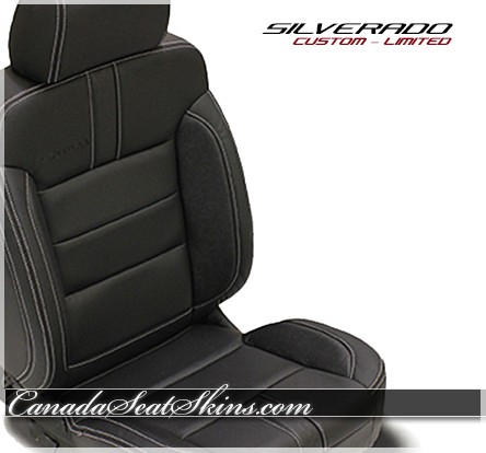 Seat Skins For Trucks >> 2014 - 2018 Chevrolet Silverado Limited Edition Leather Upholstery