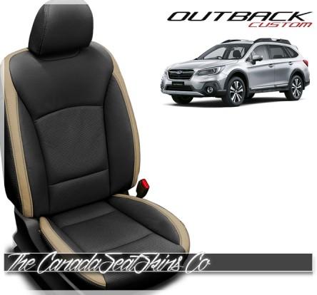 2015 - 2019 Subaru Outback Katzkin Custom Leather Seat Sale