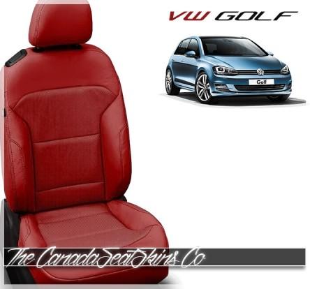 2015 - 2019 Volkswagen Golf Katzkin Custom Leather Seat Sale