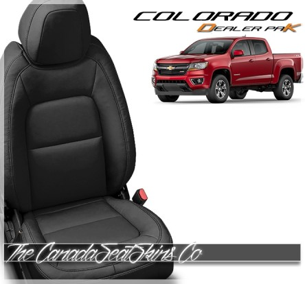 2015 - 2021 Chevrolet Colorado Katzkin Leather Seat Dealer Promotion