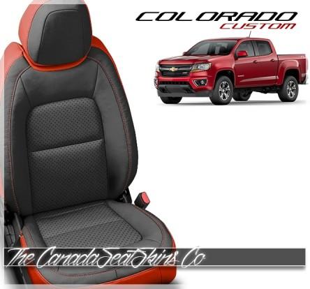 2015 - 2020 Chevrolet Colorado Katzkin Custom Leather Seat Sale