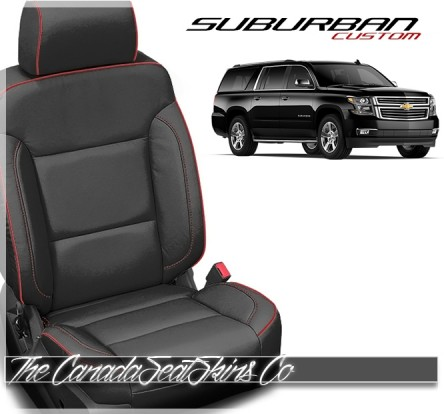 2015 - 2020 Chevrolet Suburban Katzkin Custom Leather Seat Sale