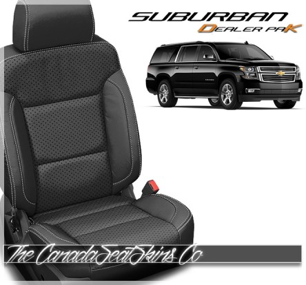 2015 - 2020 Chevrolet Suburban Katzkin Dealer Pak Leather Seat Sale