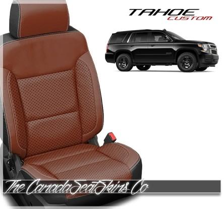2015 - 2020 Chevrolet Tahoe Katzkin Custom Leather Seat Sale