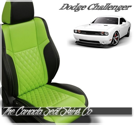 2015 - 2020 Dodge Challenger Custom Tekstitch Leather Seat Sale