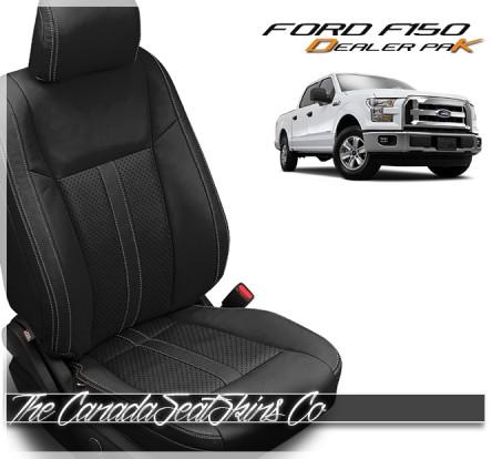 2015 - 2020 Ford F150 Black Katzkin Leather Sale