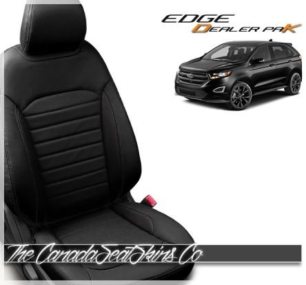 2015 - 2020 Ford Edge Katzkin Dealer Pak Leather Seat Sale Black