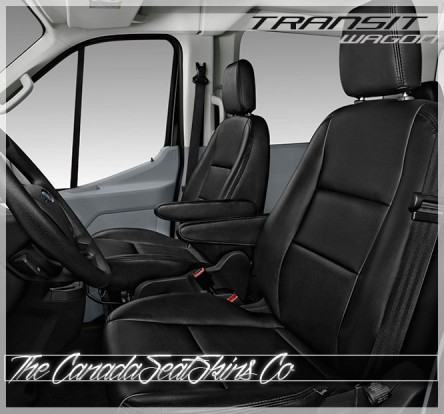 2015 - 2020 Ford Transit Wagon Katzkin Leather Seats