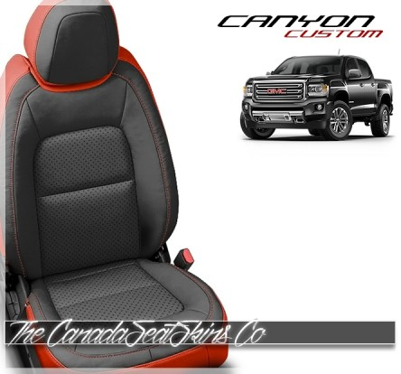 2015 - 2021 GMC Canyon Katzkin Custom Leather Seat Sale