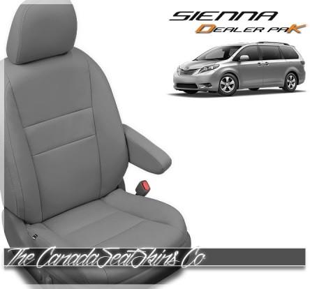 2015 - 2020 Toyota Sienna Katzkin Leather Seat Cover Sale