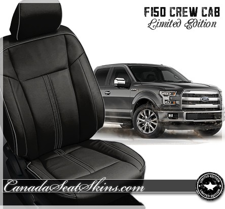 2015 - 2019 Katzkin F150 Black Limited Edition Leather Upholstery