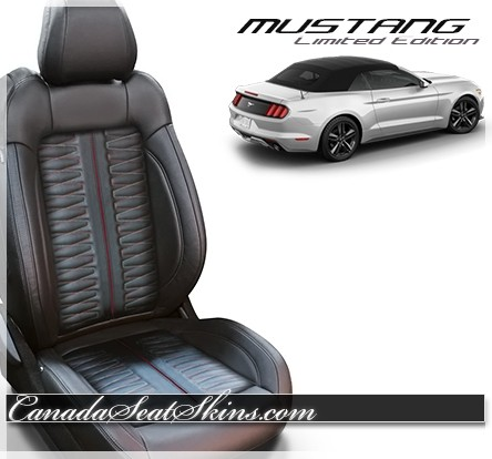 2015 - 2019 Mustang Katzkin RPM Edition Leather Seats