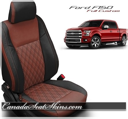2016 Ford F150 Seat Covers >> 2015 - 2019 Ford F150 Katzkin Custom Leather Upholstery