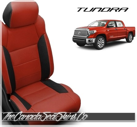 2014 - 2021 Toyota Tundra Katzkin Custom Salsa Leather Seats