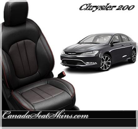 2015 - 2018 Chrysler 200 Custom Leather Upholstery Katzkin