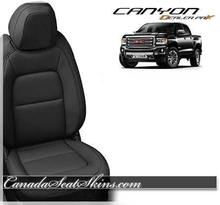 2015 - 2019 GMC Canyon Katzkin DK Leather Interiors