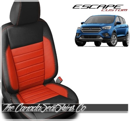 2017- 2019 Ford Escape Katzkin Custom Leather Seat Covers