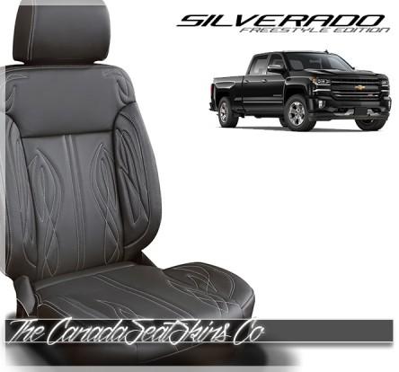 2016 - 2018 Chevrolet Silverado Freestyle Edition Leather Seat Sale