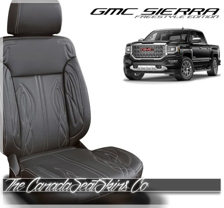 2016 - 2018 GMC Sierra Katzkin Freestyle Edition Leather Seat Sale