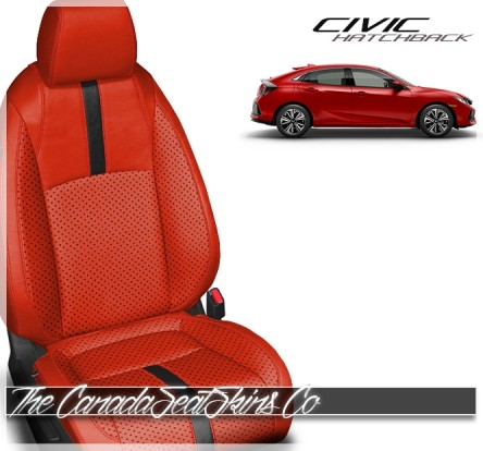 2017 - 2020 Honda Civic Hatchback Custom Leather Seats New