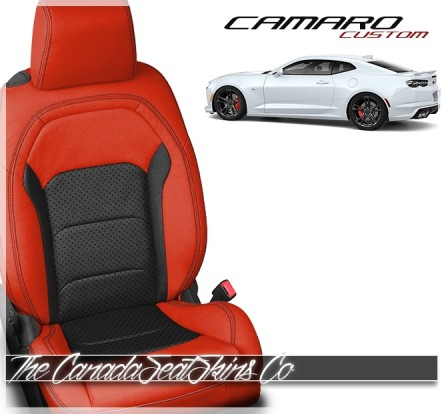2016 - 2020 Chevrolet Camaro Katzkin Custom Leather Seat Sale