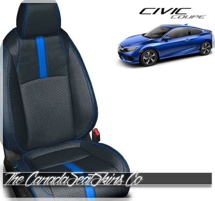 2016 - 2020 Honda Civic Coupe Custom Leather Seats