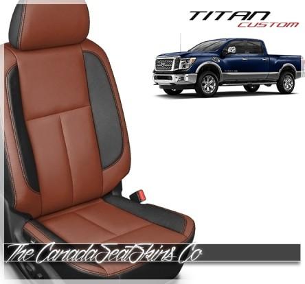 2016 - 2021 Nissan Titan Custom Katzkin Leather Seat Sale