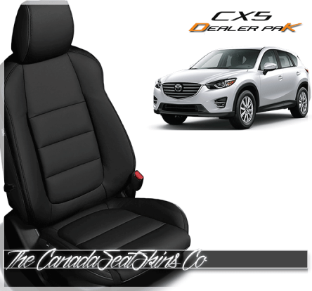 2016 Mazda CX5 Touring Dealer Pak Leather Conversion Kit Black