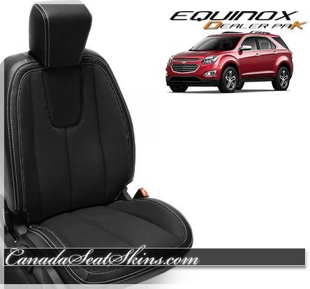 2010 - 2017 Equinox Black Wholesale Leather Seats