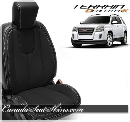 2010 - 2017 GMC Terrain Black Wholesale Leather Seats