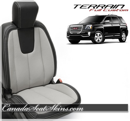2010 - 2016 GMC Terrain Katzkin Leather Seats