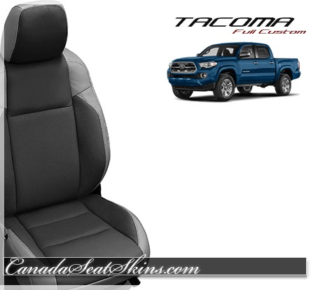 2016 2018 Toyota Tacoma Grey Katzkin Leather Seats