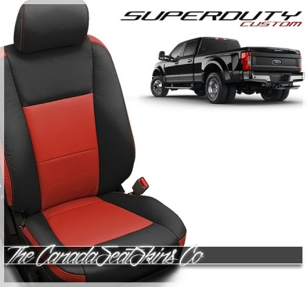 2017 - 2021 Ford F250 F350 F450 F550 Premium Katzkin Custom Leather Seats
