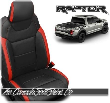2017 - 2020 Ford F150 SVT Raptor Katzkin Leather Seat Sale
