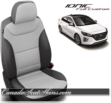 2017 - 2019 Hyundai Ionic Katzkin Leather Seats