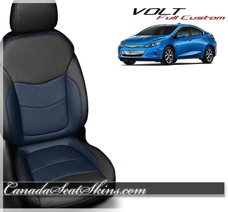 2016 - 2017 Chevrolet Volt Katzlin Blue Leather Seats