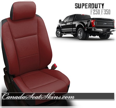 2017 - 2019 Ford F250 F350 Katzkin Custom Leather Seats