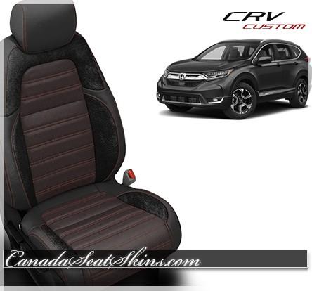 2017 - 2019 Honda CRV Katzkin Custom Leather Seats