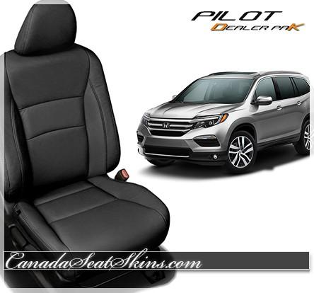 2016 - 2019 Honda Pilot Katzkin DK Leather Upholstery