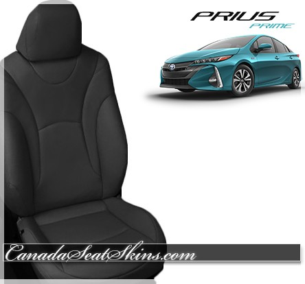 2017 - 2018 Toyota Prius Prime Katzkin Leather Seats