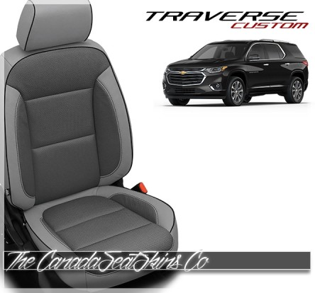 2018 - 2021 Chevrolet Traverse Katzkin Leather Seat Sale