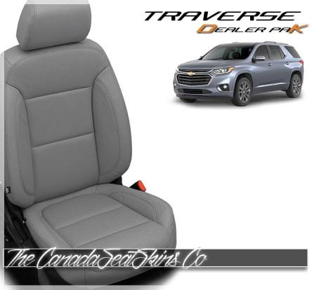 2018 - 2021 Chevrolet Traverse Katzkin Leather Seat Sale Ash