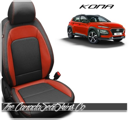 2018 - 2020 Hyundai Kona Katzkin Leather Seat Sale