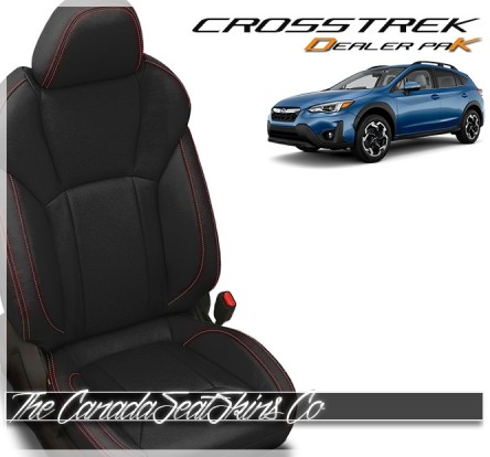 2018 - 2021 Subaru Crosstrek Katzkin Dealer Pak Leather Seat Sale